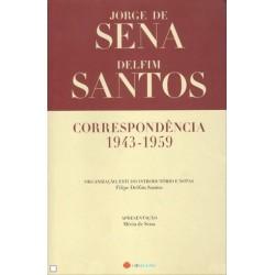 Correspondência 1943-1959 (Sena/Santos) de Jorge de Sena_Delfim Santos