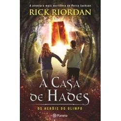 A Casa De Hades Heróis Do Olimpo 4 de Rick Riordan