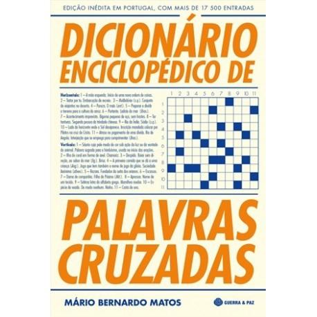 Dicionário Enciclopédico De Palavras Cruzadas de Mário Bernardo Matos