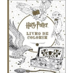 Harry Potter-Livro De Colorir de Warner Bros.