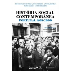 História Social Contemporânea - Portugal 1808-2000 de Nuno Gonçalo Monteiro e António Costa Pinto