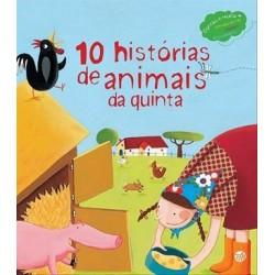 10 Histórias De Animais Da Quinta: Livro De Histórias de Zero a Oito
