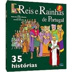 35 Histórias De Reis E Rainhas De Portugal de Maria de Lurdes Marcelo