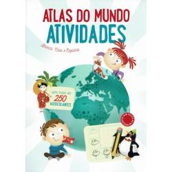Atlas do Mundo - Brinca, cola e explora
